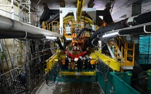 Bắt đầu làmđường hầm 'khủng' cho tuyến metro TP.HCM