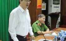 Bí thư Thành ủy Nguyễn Thiện Nhân chất vấn việc làm trụ cứu hỏa