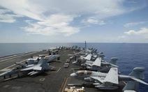 Tàu sân bay thứ 3 của Mỹ sắp đến gần Triều Tiên