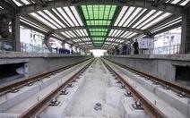 Khắc phục nhiều tồn tại trong thi công đường sắt Cát Linh - Hà Đông