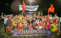 Điểm tin sáng 29-5:Đội Sun Group giành ngôi vô địch Giải Phú Quốc League
