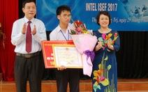 Nhiều khen thưởng, cơ hội nghiên cứu dành cho HS Phạm Huy