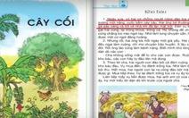 SGK tiếng Việt lớp 2 sai ngữ pháp, diễn đạt