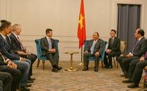 Thủ tướng mong doanh nghiệp Việt thu hút được vốn ở Mỹ