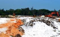 Lãnh đạo Quảng Nam lên tiếng về hai vụ khai thác cát