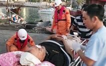 Cứu thuyền viên bị thương trên tàu quốc tế