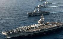 Hải quân Mỹ, Nhật tập trận gần Triều Tiên