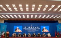 Trung Quốc hủy diễn đàn Hương Sơn để xoa dịu láng giềng?