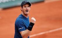 Murray chóng vánh vào vòng 4 Pháp mở rộng
