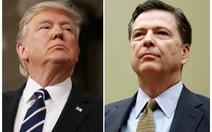 Tổng thống Trump không cản trở cựu giám đốc FBI ra điều trần
