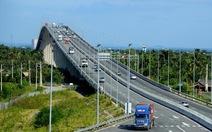 Bộ Giao thông không đồng ý giảm tốc độ trên cầu Long Thành