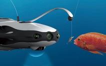 Câu cá bằng thiết bị lặn không người lái giá ngàn 'đô'