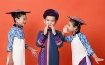 Hoa hậu Việt trình diễn ở show Thời trang trẻ em châu Á