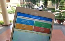 TP.HCM triển khai phần mềm báo cáo qua điện thoại thông minh