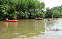 Tìm thấy thi thể một học sinh bị nước cuốn ở Quảng Ngãi