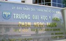 Bộ GD-ĐT yêu cầu Y khoa Phạm Ngọc Thạch tuyển cả nước