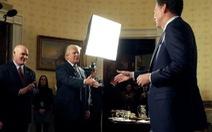 Mật vụ Mỹ nói không có băng ghi âm nào của Nhà Trắng