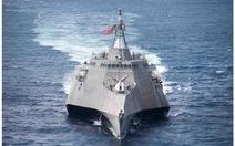 Tàu chiến Mỹ bảo dưỡng ở cảng Cam Ranh