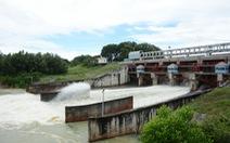 Hồ Dầu Tiếng bắt đầu xả nước xuống sông Sài Gòn
