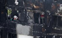 Số người chết vụ cháy ở London lên 17, chưa rõ số mất tích