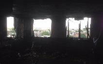 Những hình ảnh đầu tiên bên trong tòa nhà cháy ở London