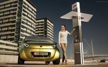 Tương lai của ôtô điện: vừa chạy vừa sạc điện