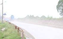 Xây cầu rửa xe giải quyết ô nhiễm bụi