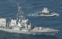 Va chạm tàu khu trục Mỹ, có thể do lỗi con người?