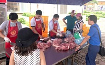 Hai ngày 'giải cứu' hơn 5 tấn thịt heo