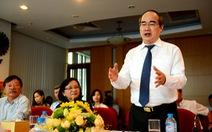 Bí thư Nguyễn Thiện Nhân: 'Bảo vệ nhà báo đấu tranh cho lẽ phải'