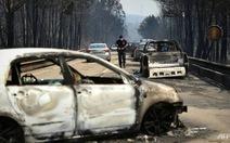 Vượt qua cung đường địa ngục phủ lửa cháy rừng