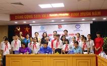 Ký chương trình hợp tác chăm sóc, bảo vệ, giáo dục trẻ em