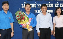 Anh Phạm Hồng Sơn là tân Bí thư Thành đoàn TP.HCM
