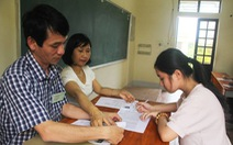 Bộ GD-ĐT: 99% thí sinh làm thủ tục dự thi