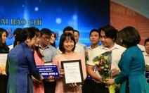 Báo Tuổi Trẻ đạt 3 giải nhất giải Báo chí TP.HCM