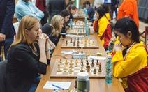 Tuyển cờ vua nữ VN thua 1-3 trước Ukraine