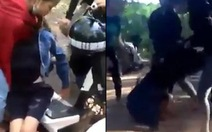 Nữ sinh bị đánh đến ngất xỉu do mâu thuẫn trên mạng