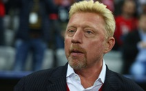 Boris Becker sốc khi bị tuyên bố phá sản