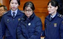 Bà Choi Soon Sil bị tuyên án 3 năm tù