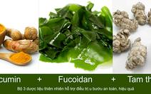 Công dụng của nghệ, tảo nâu và tam thất với bệnh u bướu
