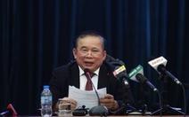 Bộ GD-ĐT họp báo: Kì thi đã diễn ra an toàn