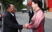 Lãnh đạo Việt Nam - Campuchia trao đổi thư chúc mừng