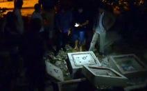 Nắp cống đè chết bé trai 10 tuổi tại quận 12, TP.HCM