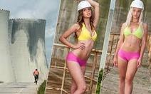 Thi diện bikini để giành suất thực tập tại nhà máy điện Czech
