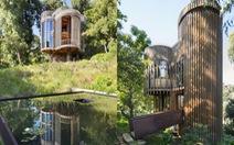 Nhà gỗ sang trọng giữa rừng cây ở Nam Phi