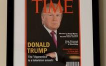Lạ lùng chuyện ông Trump lên bìa nhái tạp chí Time
