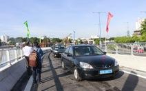 Thông xe hai nhánh cầu Nguyễn Văn Cừ