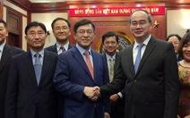 Bí thư Nhân sẵn sàng kết nối doanh nghiệp Việt cho Samsung