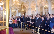 Chủ tịch nước Trần Đại Quang thăm chiến hạm Rạng Đông