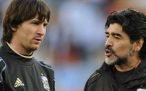 Maradona không buồn dù không được Messi mời đám cưới